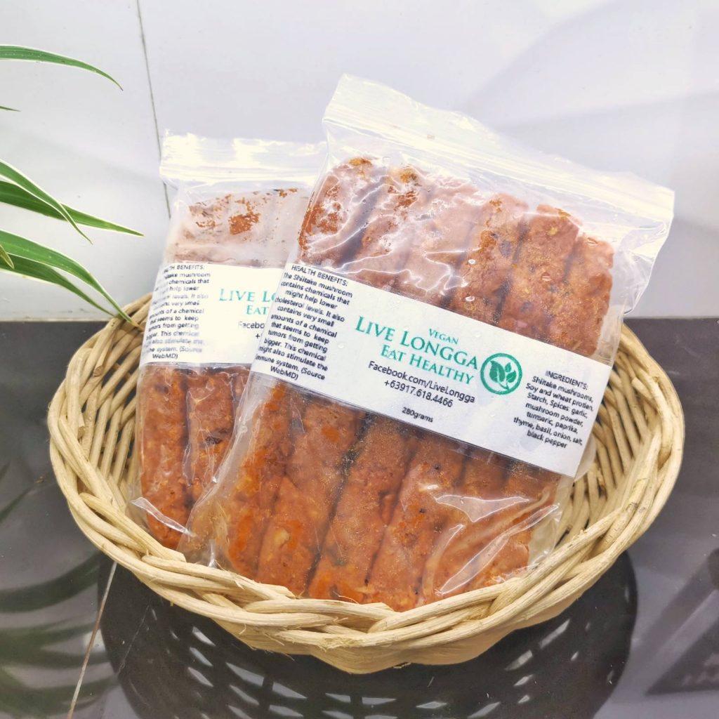 Live Longga Vegan Longganisa pack